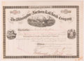 Autographs:Celebrities, Henry Algernon DuPont. Wilmington and Northern Rail Road CompanyStock Certificate Signed by H. A. DuPont as President of the ...