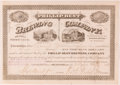 Autographs:Celebrities, Frederick Pabst. Phillip Best Brewing Company Stock CertificateSigned by Frederick Pabst as President of the Company, 1873....