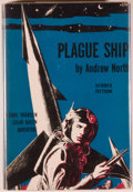 Books:Science Fiction & Fantasy, Andrew North (pseudonym Alice Mary Norton). Plague Ship. NewYork: Gnome Press, 1956. First edition. Octavo. 192...