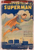 Books:Comics - Bronze Age, George Lowther. Superman. New York: Random House, 1942.First appearance of Superman in book form. Octavo. 215 p...
