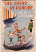 Books:First Editions, Leslie Charteris. The Saint in Europe. London: Hodder andStoughton, 1954. First edition. Octavo. 192 pages. Pub...