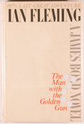Books:First Editions, Ian Fleming. The Man With the Golden Gun. New York: NewAmerican Library, 1965. First American edition. Octavo. ...