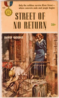 Books:First Editions, David Goodis. Street of No Return. New York: Gold MedalBooks, 1954. First printing. Octavo. 175 pages. Paperbac...