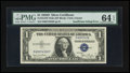Error Notes:Error Group Lots, Fr. 1613W $1 1935D Wide Silver Certificate. PMG Choice Uncirculated64 EPQ; Fr. 1614 $1 1935E Silver Certificate. PMG Choice U...(Total: 2 notes)