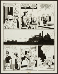 "Jaime Hernandez Love and Rockets Book 1 ""Mechanicos"" Page 3 Original Art (Fantagraphics, 1985)"