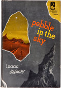 Books:Science Fiction & Fantasy, Isaac Asimov. Pebble in the Sky. Garden City: Doubleday& Company, 1950. First edition. Octavo. 223 pages. Publisher...