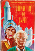 Books:Science Fiction & Fantasy, Isaac Asimov. Foundation and Empire. New York: Gnome PressPublishers, [1952]. First edition, first state (Currey bi...