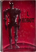 Books:Science Fiction & Fantasy, Isaac Asimov. I, Robot. New York: Gnome Press, Inc.Publishers, [1950]. First edition. Octavo. 253 pages. Publis...