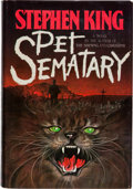 Books:Horror & Supernatural, Stephen King. Pet Sematary. Garden City: Doubleday &Company, Inc., 1983. First edition. Inscribed and signed ...