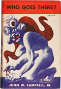 Books:Science Fiction & Fantasy, John W. Campbell, Jr. Who Goes There? Seven Tales ofScience-Fiction. Chicago: Shasta Publishers, 1948. First ed...