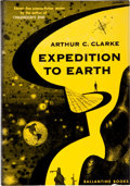 Books:Science Fiction & Fantasy, Arthur C. Clarke. Expedition to Earth. New York: BallantineBooks, Inc., [1953]. First edition. Twelvemo. 165 pa...