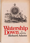 Books:Science Fiction & Fantasy, Richard Adams. Watership Down. New York: Macmillan Publishing Co.,Inc., [1972]. First edition, first printing. With a sig...