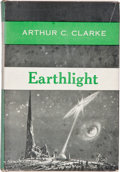 Books:Science Fiction & Fantasy, Arthur C. Clarke. Earthlight. New York: Ballantine, [1955]. First edition. Octavo. [vi], 186 pages. Publisher's ...