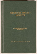 Books:Reference & Bibliography, R. L. Furniss and V. M. Carolin. Western Forest Insects.Washington: Government Printing Office, 2002. Reprint o...