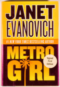 Books:Signed Editions, Janet Evanovich. Signed. Metro Girl. New York: Harper Collins, 2004. First edition. Octavo. 296 pages. Publisher...