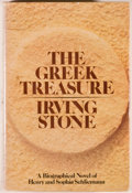 Books:Signed Editions, Irving Stone. Signed. The Greek Treasure. A Biographical Novel of Henry and Sophia Schliemann. Garden City: Doub...