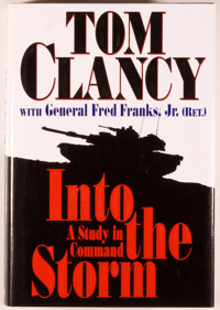 Tom Clancy with General Fred Franks, Jr. Signed. Into the Storm. A Study in Command