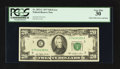 Error Notes:Error Group Lots, Fr. 2072-C $20 1977 Federal Reserve Note. PCGS Very Fine 30;. Fr.2077-B $20 1990 Federal Reserve Note. PCGS Very Fine 25.. ...(Total: 2 notes)
