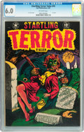 Golden Age (1938-1955):Horror, Startling Terror Tales #10 (Star Publications, 1952) CGC FN 6.0Off-white pages....