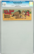 Golden Age (1938-1955):Cartoon Character, Wheaties Premiums #A6 Li'l Bad Wolf (Walt Disney Productions, 1950)CGC NM/MT 9.8 Off-white to white pages....