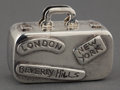 Silver Smalls:Other , A TIFFANY SILVER NOVELTY PILL BOX . Tiffany & Co., New York,New York, circa 1950. Marks: TIFFANY & CO., 925, T & CO,92...