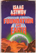 Books:Science Fiction & Fantasy, Isaac Asimov. Foundation and Earth. Garden City: Doubleday & Company, 1986. First edition. Octavo. 356 pages. Or...