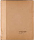 Books:Reference & Bibliography, W. W. Greg. A Bibliography of the English Printed Drama to theRestoration. London: Printed for the Bibliographi... (Total: 4Items)