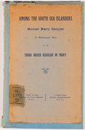 Books:Biography & Memoir, [Anonymous]. Mother Mary Denyse. A South Sea Island Missioner ofthe Third Order Regular of Mary. Lyon: J. B. Ro...