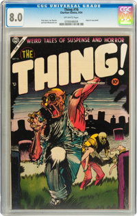 The Thing! #16 (Charlton, 1954) CGC VF 8.0 Off-white pages