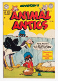 "Golden Age (1938-1955):Funny Animal, Movietown's Animal Antics #29 Davis Crippen (""D"" Copy) pedigree(DC, 1950) Condition: VF...."