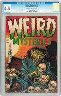 Golden Age (1938-1955):Horror, Weird Mysteries #7 (Gillmor, 1953) CGC VG+ 4.5 Cream to off-whitepages....