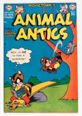 "Golden Age (1938-1955):Funny Animal, Movietown's Animal Antics #32 Davis Crippen (""D"" Copy) pedigree(DC, 1951) Condition: VF...."