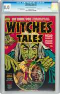 Golden Age (1938-1955):Horror, Witches Tales #3 File Copy (Harvey, 1951) CGC VF 8.0 Cream tooff-white pages....