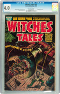 Golden Age (1938-1955):Horror, Witches Tales #25 (Harvey, 1954) CGC VG 4.0 Off-white pages....