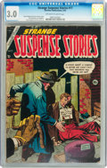 Golden Age (1938-1955):Horror, Strange Suspense Stories #17 (Charlton, 1954) CGC GD/VG 3.0 Off-white to white pages....