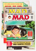 Magazines:Humor, Worst From Mad #7, 10, and 11 Group (EC, 1964-68).... (Total: 3Comic Books)