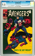 Silver Age (1956-1969):Superhero, The Avengers #56 Twin Cities pedigree (Marvel, 1968) CGC NM/MT 9.8Off-white to white pages....