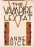Books:Horror & Supernatural, Anne Rice. The Vampire Lestat. New York: Knopf, 1985. Firstedition, first printing. Octavo. 481 pages. Publisher's ...