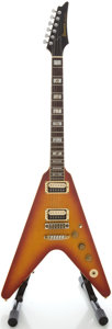 Musical Instruments:Electric Guitars, Circa 1980's Ibanez Rocket Roll II Cherry Sunburst Solid BodyElectric Guitar, Serial #B826257....