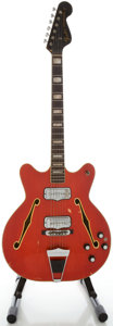Musical Instruments:Electric Guitars, Circa 1966 Fender Coronado II Cherry Semi-Hollow Body ElectricGuitar, Serial #194391....