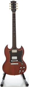 Musical Instruments:Electric Guitars, 2003 Gibson SG Faded Solid Body Electric Guitar, Serial #00583479....