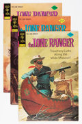 Bronze Age (1970-1979):Western, Lone Ranger File Copy Group (Gold Key, 1974-77) Condition: Average VF+.... (Total: 7 Comic Books)