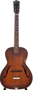 Musical Instruments:Acoustic Guitars, Circa 1943 Gibson L-50 Sunburst Archtop Acoustic Guitar....