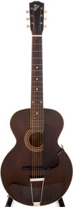 Musical Instruments:Acoustic Guitars, 1922 Gibson L-1 Brown Acoustic Archtop Guitar, Serial # 70629....