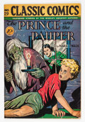 Golden Age (1938-1955):Classics Illustrated, Classic Comics #29 The Prince and the Pauper - First Edition(Gilberton, 1946) Condition: VG+....