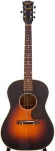 Musical Instruments:Acoustic Guitars, 1944 Gibson Banner Model LG-2 Sunburst Acoustic Guitar, Serial #2097....