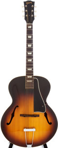 Musical Instruments:Acoustic Guitars, 1956 Gibson L-50 Sunburst Acoustic Archtop Guitar, Serial # 22422....