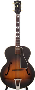 Musical Instruments:Acoustic Guitars, 1952 Gibson L-7 Sunburst Archtop Guitar, Serial # A13019. ...