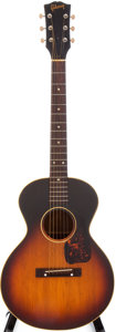 Musical Instruments:Acoustic Guitars, 1957 Gibson LG 3/4 Sunburst Acoustic Guitar, Serial # U904614. ...
