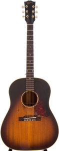 Musical Instruments:Acoustic Guitars, 1957 Gibson J-45 Sunburst Acoustic Guitar, Serial # U67320. ...